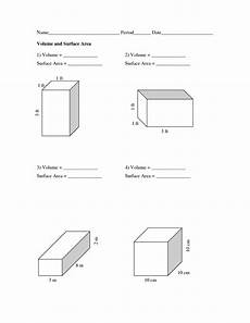 volume and surface area worksheets volume and surface area worksheets pdf school area