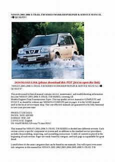 nissan 2001 2006 trail t30 series workshop repair service manual quality by xiumin issuu