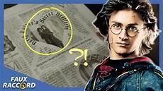 Faux Raccord Les Plus Grosses Gaffes D Harry Potter Et