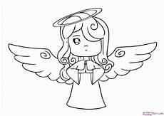 Einfache Malvorlage Engel Pin Auf Neues Lernen