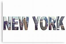 quot new york city word quot canvas prints by laurawr1ght