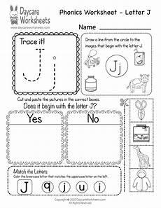 phonics worksheets letter j 24389 free letter j phonics worksheet for preschool beginning sounds