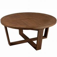 Table Basse Ronde 90 Cm Bois Univers Salon