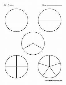 fraction circles worksheet for 2nd 3rd grade lesson planet