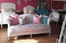 sofa shabby chic shabby chic sofa chenille bedspread by