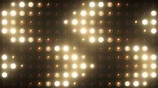 wall of light bulbs lights bulb vj spotlight wall of lights stage motion graphic background 4k ultra hd
