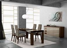 modern dining room chairs chosen for stylish and open dining area amaza design