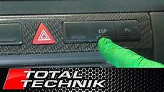 how to remove esp button audi a6 s6 rs6 c5 1997 2005