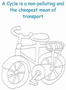 Malvorlagen Cycle Cycle Printable Coloring Page For