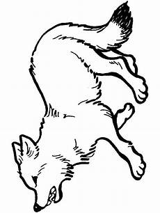 wolf coloring pages learny
