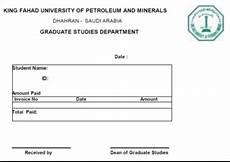 deanship of graduate studies tuition fee regulations