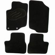 jeu complet de tapis sur mesure noir en moquette norauto