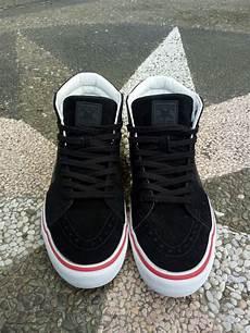 jual sepatu vans sk8 hi pro thrasher size 43 original not converse nike adidas yezzy