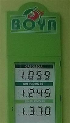 prix du diesel en espagne prix de l essence et du gasoil au pas de la en andorre