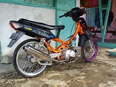 Modifikasi Motor Supra X Lama by 15 Modifikasi Motor Honda Supra Fit Lama Terbaik Otomotiva