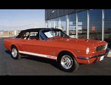 1965 FORD MUSTANG CONVERTIBLE SHELBY RE CREATION  39700