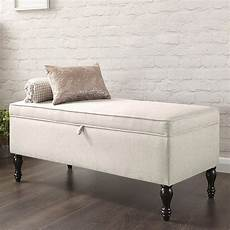 Cushioned Ottoman by Cushioned Ottoman Fabric Storage Box Large Blanket