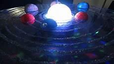 how to make 3d solar system project sistema solar giratorio paso a paso youtube