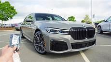 2020 bmw 750li 2020 bmw 750i xdrive start up exhaust test drive and