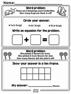 addition word problem worksheets for kindergarten 11338 word problems addition to 10 worksheets kindergarten and grade 1 math itsy bitsy