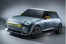 mini unveils concept of production electric car