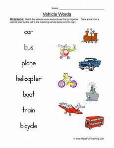 transportation worksheets have fun teaching