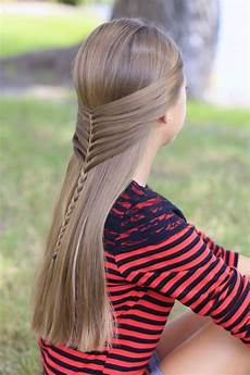 mermaid half braid hairstyles for hair cute