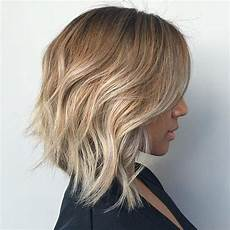 angled lob tresses wavy bob hairstyles hair styles latest short hairstyles
