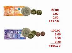 adding philippine money worksheets for grade 2 2622 money
