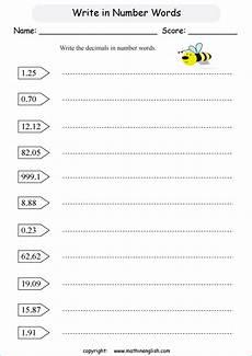 learning decimals worksheets 7201 write decimals hundredths printable grade 4 math worksheet