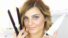 How To Curl Hair With A Straightener Hair