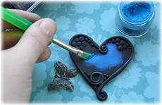 Such A Pretty Mess Polymer Clay Trinket Embellishment