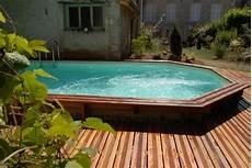 comment installer une piscine semi enterrée piscine semi enterr 233 e conseils prix installation