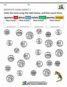 money identification worksheets for kindergarten 2195 kindergarten money worksheets 1st grade