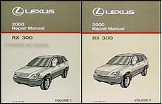 auto repair manual free download 2001 lexus rx free book repair manuals 2000 lexus rx300 repair manual