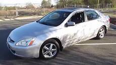 2003 honda accord ex l 5 spd early spring updates youtube