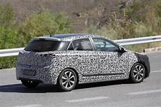 Spyshots Could This Be The Upcoming 2016 Hyundai I20
