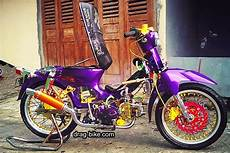 C70 Modifikasi by 40 Foto Gambar Modifikasi Honda C70 Kontes Airbrush