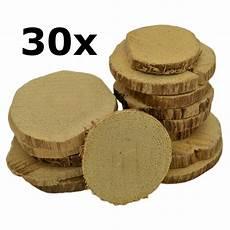 30 astscheiben naturholzscheiben mit rinde zum basteln 216