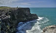 coast photo file sea cliff barbados coast jpg wikimedia commons