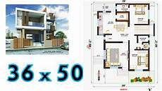 north facing plot house plans 36x50 house plan north facing 2bhk home plan youtube