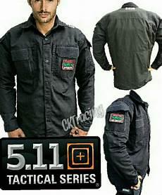 jual kemeja tactical outdoor 5 11 hitam kemeja pdl