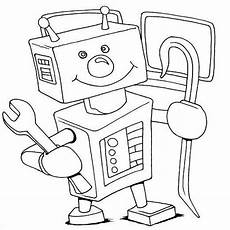 roboter malvorlagen zum ausdrucken roboter ausmalbild 06 roboter ausmalen und ausmalbilder