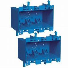 2x 3 wall outlet light switch old work home plastic electrical box remodel ebay