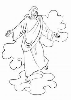 ausmalbilder jesus calendar june