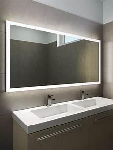 halo wide led light bathroom mirror 1419h illuminated