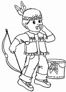 Ausmalbilder Indianer Indian Coloring Pages Coloringpages1001