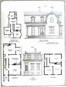 second empire victorian house plans victorian architectural plans 55 elevations and plans for