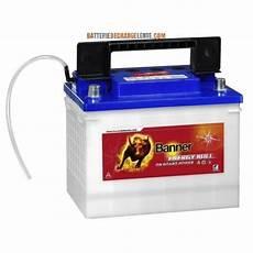 Batterie Banner D 233 Charge Lente Bateau 12v 60ah Batterie