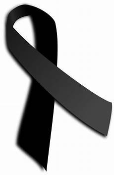 Schwarze Bedeutung - schwarze schleife